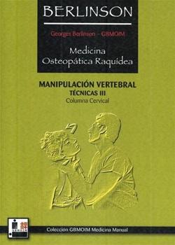 Berlison Iii Medic Osteopatica Raquidea Columna Vertebral