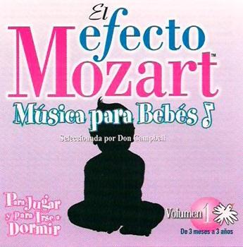 Mozart p/ jugar e irse a dormir