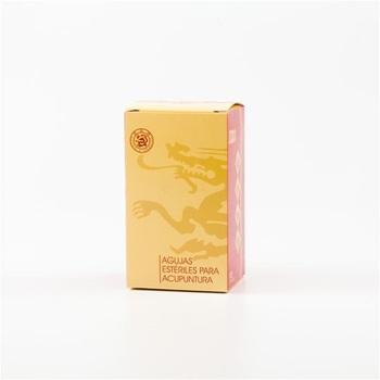 Mango Chino Plateado Cloud & Dragon 0,22 mm x 40 mm 1 aplicador x aguja caja x 100