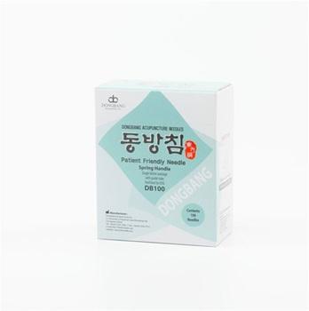 Mango Coreano Dong Bang 0,30 mm x 30 mm 1 aplicador x aguja caja x 100