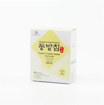 Mango Coreano Dong Bang 0,20 mm x 40 mm 1 aplicador x aguja caja x 100