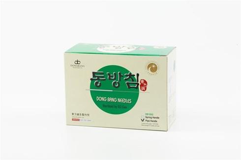 Mango Japones Dong Bang 0,25 mm x 40 mm 1 aplicador c/5 agujas caja x 500