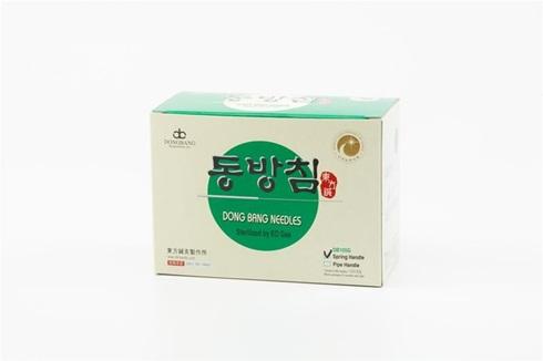 Mango Coreano Dong Bang 0,25 mm x 30 mm 1 aplicador c/5 agujas caja x 500
