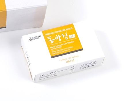 Para mano Dong Bang 0,18 mm x 8 mm caja x 100