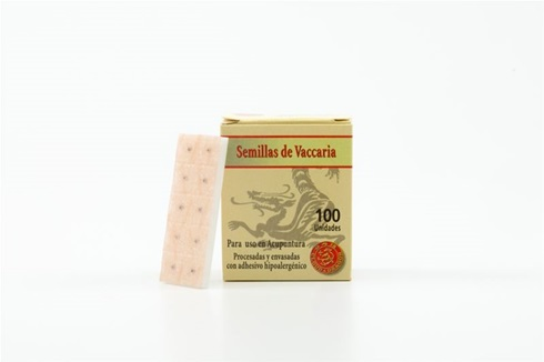 Semillas vaccaria c/adhesivo caja x 100