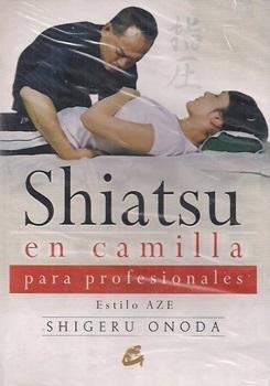 Shiatsu en camilla p/profesionales con dvd