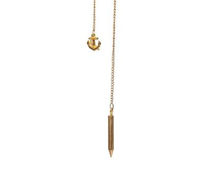 Pendulo david bronce