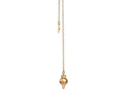 Pendulo mermet bronce c/ testigo