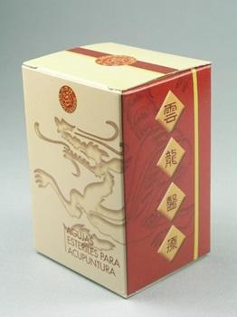 Mango Chino de Cobre Cloud & Dragon 0,20 mm x 25 mm 1 aplicador x aguja caja x 100
