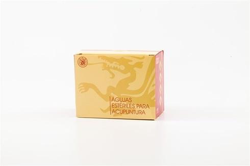 Mango Chino de Cobre Cloud & Dragon 0,25 mm x 25 mm 1 aplicador c/5 agujas caja x 1000