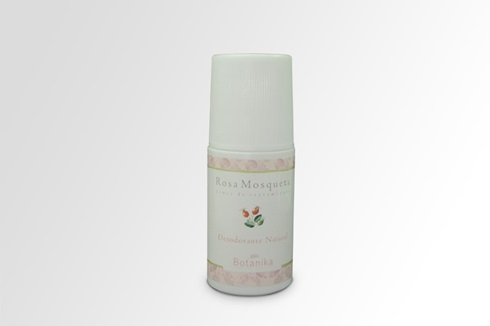 Desodorante natural rosa roll on x 60 cc